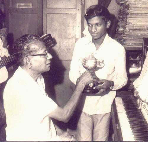 ilaiyaraaja with dhanraj master